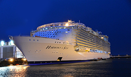 ล่องเรือสำราญสุดหรู Harmony of the Seas โรม อิตาลี