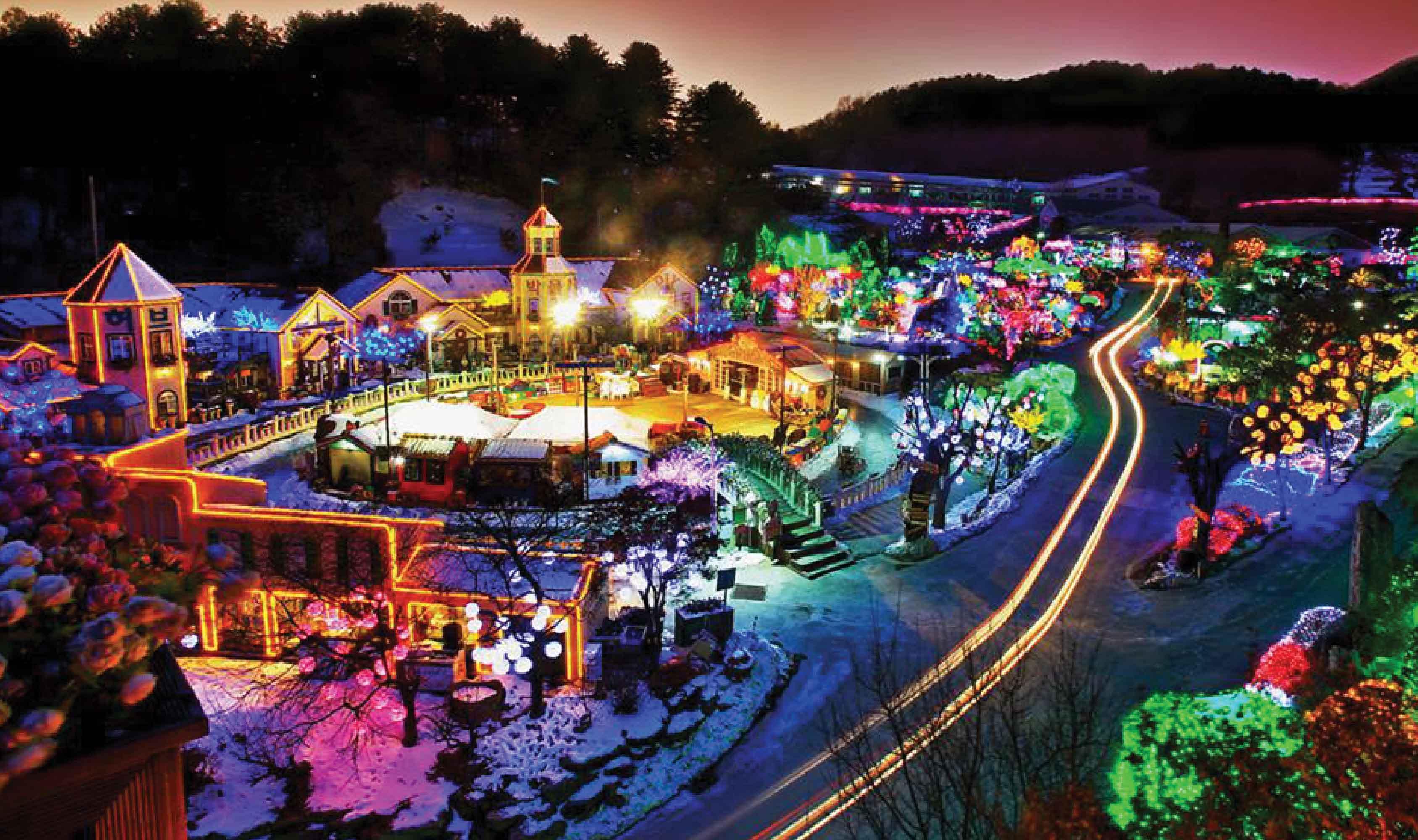 ทัวร์เกาหลี โซลทาวเวอร์ เทศกาลประดับไฟ 4วัน 3 คืน บินแอร์เอเชีย X (XJ)