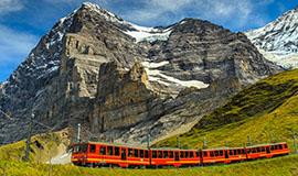 ทัวร์ยุโรป Swiss Scenic Trails 8 วัน  บินTG