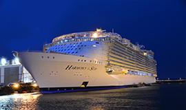 ล่องเรือสำราญสุดหรู Harmony of the Seas บาร์เซโลน่า สเปน