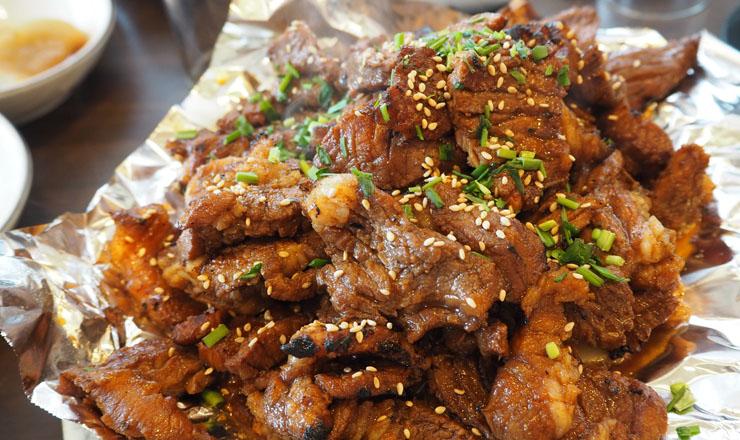 หมูย่างเกาหลี หรือ หมูกระทะเกาหลี อาหารเลิศรสที่ต้องกินเมื่อไปถึง ประเทศเกาหลีใต้