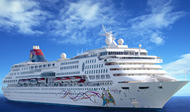 ล่องเรือสำราญ สิงคโปร์ - เกาะปีนัง - เกาะลังกาวี / เกาะเตียวมัน - เกาะเรดัง - สิงคโปร์ 4 วัน 3 คืน