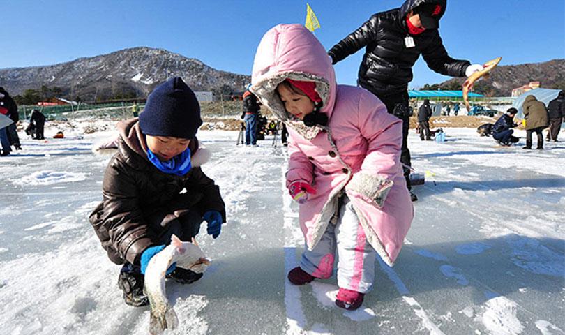 ทัวร์เกาหลี เทศกาลตกปลาน้ำแข็ง 4วัน 3คืน บิน AIR ASIA X (XJ)